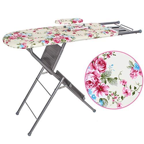 MIEMIE Dual-Purpose-Bügelbrett Zusammenklappbar Platz sparen Tisch Wohnzimmer Wohnzimmer Eisenregal kann als Leiter verwendet Werden