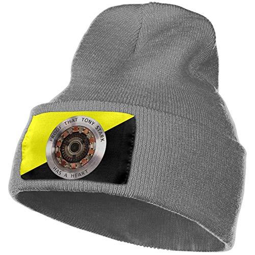 JONINOT Beweis, DASS to-Ny St-Ark eine Herz-Strickmütze hat Warme Hüte Beanie Skull Cap Winter Daily Beanie Strumpfhut