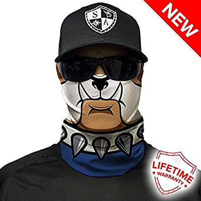 Scarf Neck SA Fishing Face Shields ** 40 Scarf Fabric /& SPF 40/Face Masks by SA Company Designs to Choose From ** Quality Multi-Functional Head-wear Bandana