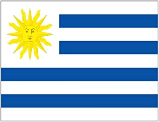 Supportershop Unisex Uruguay Flag, Blue, 150 x 90 cm