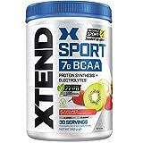XTEND Sport Natural Zero | BCAA poudre fraise kiwi | Sans arômes ni colorants artificiels | Boisson d'acides aminés à chaîne ramifiée avec électrolytes | 7 grammes de BCAA | 30 portions