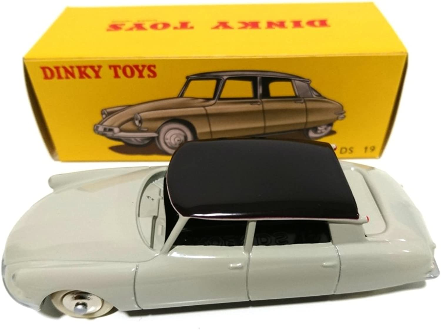 ATLAS DINKY TOYS CITROEN DS 19 (ref 24 C) grey color   Gift end of collection for subscribers  rare limited edition
