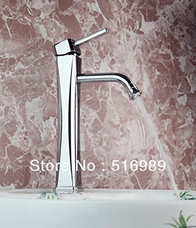 Retro Deluxe Fauceting neue Marke warmes kaltes Wasser Chrom Mixer Leitungswasser Küche Badezimmer Waschbecken Wasserhahn Bathtree 203, Wei