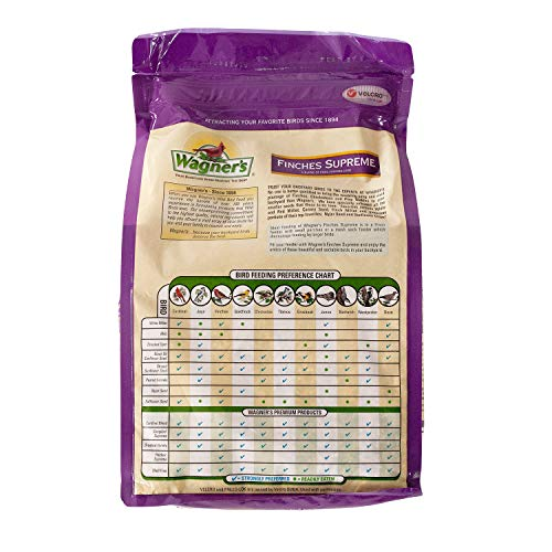 Wagner's 62068 Finches Supreme Blend, 5-Pound Bag
