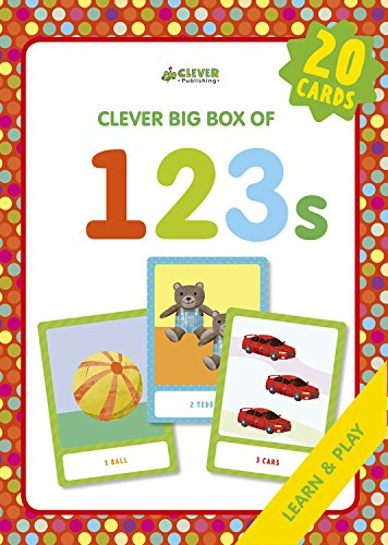 123s: Memory Flash Cards (Clever Big Box Of. . .)