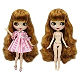 ASDAD BJD Nude Doll 1/6 SD Doll Blyth Doll Normal Body Joint Body Blyth Doll Joint Body DIY Juguetes Fashion Dolls Girls Gift,I