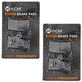 NICHE Brake Pad Set for Triumph Bonneville Thunerbird Sprint Speed Four Triple T2020553 Front Semi-Metallic 2 Pack