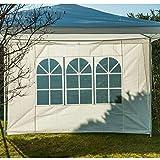 Provence Outillage 07169Seite des Zelt Fenster weiß 2,9x 1,9m