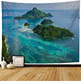 【SIZE】 About 80 x 60 inches/200 x 150 cm - beautiful tapestry, durable, wrinkle-free. 【PERFECT MATERIAL】 Made from soft and skin-friendly, durable and environment-friendly polyester fabric, easy cleaning and fast drying. 【UNIQUE DESIGN & HD PATTERN】 ...