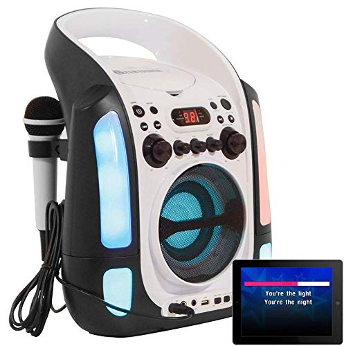Karaoke Machine CDG/CD+G/MP3+G. Built in Disco Lights. Includes 240 Song...