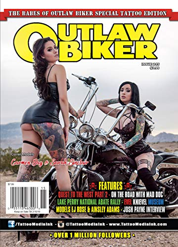 Outlaw Biker Magazine Issue 215