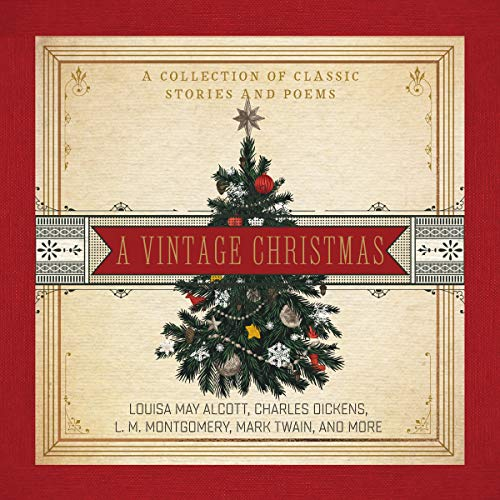 『A Vintage Christmas: A Collection of Classic Stories and Poems』のカバーアート