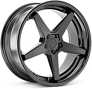 Ferrada Wheels FR3 22x11 5x115 ET20 Matte Black/Gloss Black Lip C.B 73.1