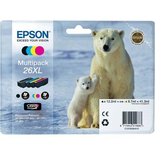 Epson c13t26364020cartuccia d' inchiostro Nero, Blu, Rosa, Giallo