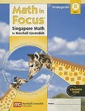 Math in Focus: Singapore Math: Student Edition, Book B Part 1 Grade K 2012