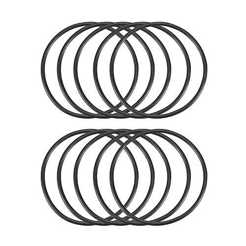 10Stück 32mm x 35mm x 1,5mm schwarz Gummi Dichtung O-Ringe Dichtungen de