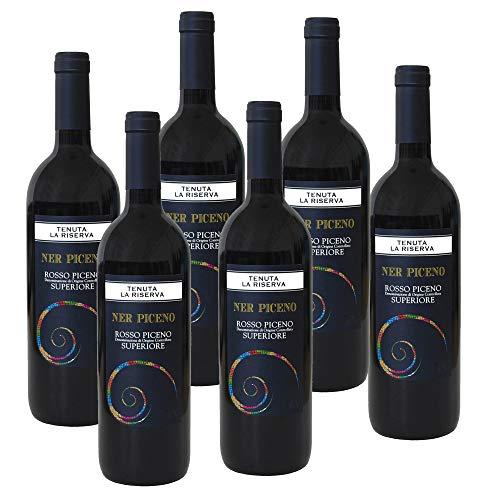 Vino Rosso Piceno Superiore Ner Piceno Tenuta la Riserva CCPB 60% Montepulciano 40% Sangiovese 2018