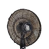 FORUSKY - Funda Protectora para Ventilador, para la protección de los niños y para Evitar el Polvo, de Malla, para Todo Tipo de Ventiladores oscilantes y de pie - 50 X 20 Black
