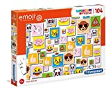 Clementoni- Emoji Puzzle, 104 Piezas, Multicolor (27285)