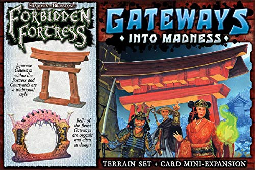 Flying Frog Productions FFP07T02 Gateways into Madness: Shadows of Brimstone Exp, Multicoloured