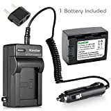 Kastar Battery (1-Pack) and Charger Kit for IA-BP105R and Samsung HMX-F80 HMX-F90 HMX-F800 HMX-F900 SMX-F50 SMX-F53 SMX-F54 SMX-F500 SMX-F501 SMX-F530 SMX-F70 SMX-F700 HMX-H300 H303 H304 H305 HMX-H320