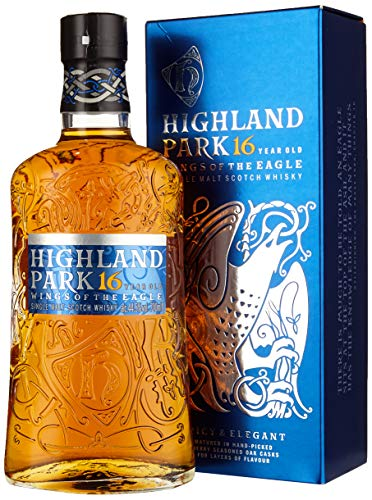 Highland Park 16 Years Wings Of The Eagle + GB Single Malt Whisky (1 x 700 ml)