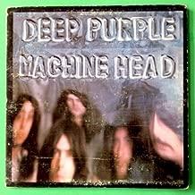 DEEP PURPLE Machine Head LP Vinyl VG+ GF w/poster 1972 BS 2607 1st Press (Green)