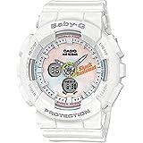 Casio Baby-G Women's G-Shock Analog-Digital BA120T-7A Watch White