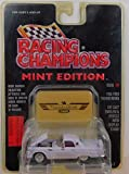 1956 Lavender Ford Thunderbird -Racing Champions Mint Condition DIE CAST Emblem & Vehicle with Display Stand