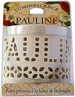 LA CARTERIE 76009104Pauline Tealight Holder with Tealight 11.1x 7x 7cm Porcelain White