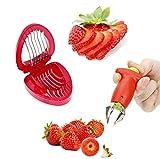 YFOX El removedor de Mango de Fresa se combina Perfectamente con la cortadora de Fresa, el removedor de Mango de Fresa se USA para Cortar el pecíolo de Fresa y la cortadora de Fresa Divide la Fresa.