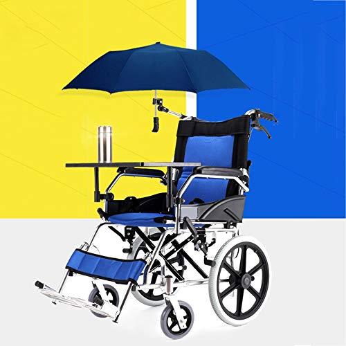 D-Q Autopropulsada silla de ruedas ligera y plegable silla de ...