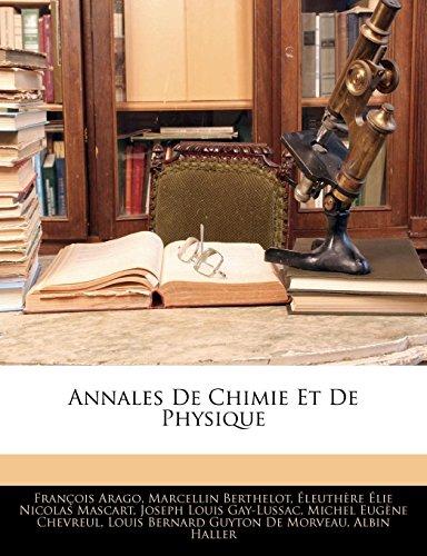 Gay-Lussac, J: Annales De Chimie Et De Physique