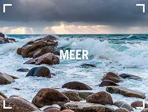 Meer - Ackermann Gallery 2020, Wandkalender im Querformat (66x50 cm) - Großformat-Kalender / Hochwertiger Panorama-Kalender Küste und Strand