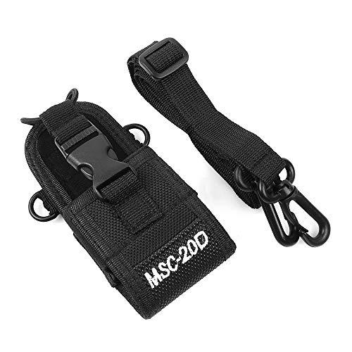 Baofeng MSC-20D Funkgeräte Tasche Multifunktion Nylontasche Tasche Handytasche für Baofeng Radioddity Kenwood Motorola Funkgeräte