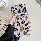 HUAI Caso de Shell Textura de la Flor del teléfono for el iPhone 11 Pro XR XS MAX 6 7 8 Plus 6S Suave IMD Dedo anular de Cristal Cubierta Trasera del teléfono (Color : O, Material : For iPhone 11)