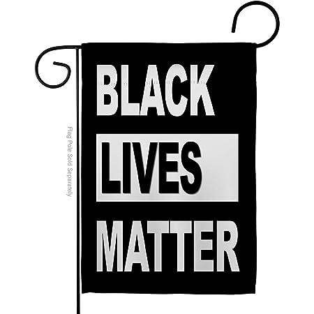 Amazon Com Black Lives Matter Garden Flag Black Lives Matter Home Decor Black Lives Matter Home Garden Or House Flag Banner House Yard Flag 70x100cm Garden Outdoor