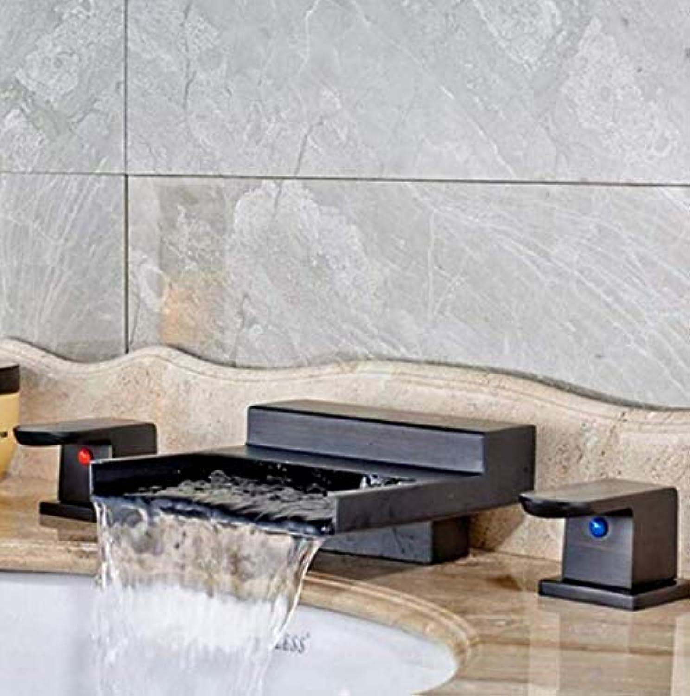 Kitchen Fauct 360° redating Faucet Retro Faucet Bath Tub Sink Faucet Double Handle Bathroom Basin Hot and Cold Mixer Taps