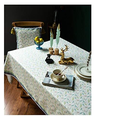 BGREN Enaguillas Mantel Manteles Rectangulares Cubierta De Mesa De Comedor Mantel Mesa Mantel De Chenilla Mantel De Lujo Bohemia-S1_El 140X140Cm