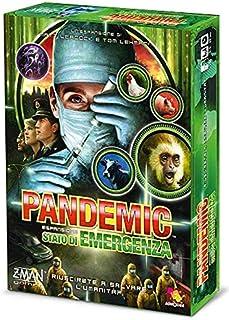 Asmodee Italia Pandemic Emergenza spelbräda, färg grön, ZMG71103IT