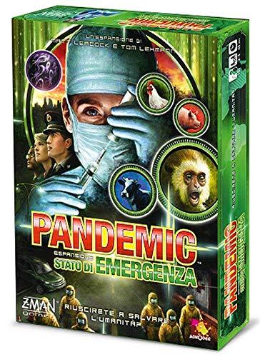 Asmodee- Pandemic Estado de Emergencia Juego de Mesa, Color Verde, ZMG71103IT