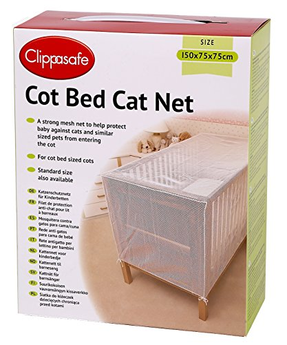 Clippasafe Kinderbett-Katzennetz