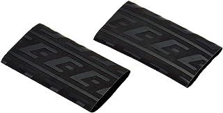EFFEX(エフェックス) グリップ用 熱収縮保護チューブ (ブラック) 2個入 EGT001