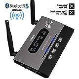 Friencity Bluetooth 5.0 Senderempfänger für TV, 3-in-1 kabelloser Bluetooth-Audio-Adapter für PC,...