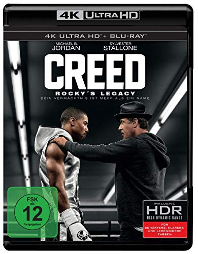 Creed - Rocky's Legacy (4K Ultra HD + 2D-Blu-ray) (2-Disc Version) [Blu-ray]