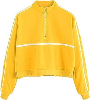 Kulywon Fashion Casual Womens Long Sleeve Sweatshirt Jumper Pullover Strapless Blouse