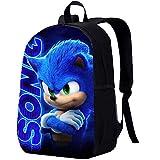 Blue School Bag Backpack for Kids Boys Girls Style B