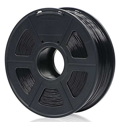 Filamento PLA ANYCUBIC per stampante 3D, di PLA da 1kg 1,75 mm per stampa 3D a basso odore, precisione dimensionale +/- 0,02 mm. Filament for 3D printer e penne 3D, Nero