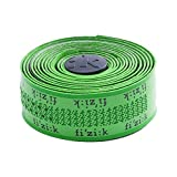 Fizik Superlight - Cinta adhesiva con logotipo, 2 mm, color verde