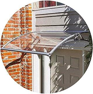 80 x 120 cm WUPYI2018 Marquesina para puerta de entrada